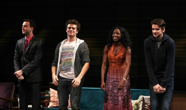 Photo Coverage: Jonathan Groff Opens in THE SUBMISSION!
