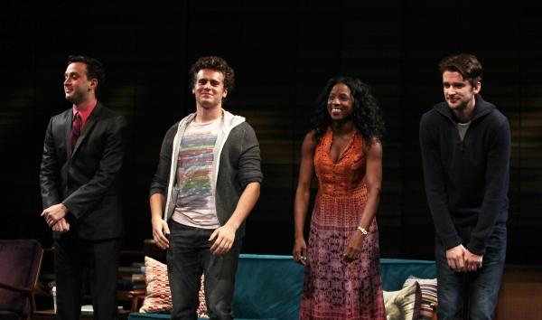 Curtain Call - Eddie Kaye Thomas, Jonathan Groff, Rutina Wesley & Will Rogers