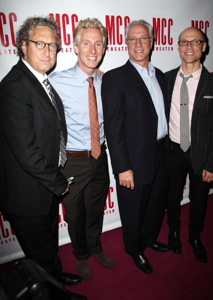 Bernard Telsey, Blake West, Robert LuPone & William Cantler  Photo