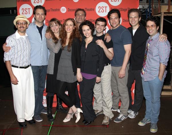 (L-R) Director Will Pomerantz, cast members Graham Rowat, Meghan McGeary, Teal Wicks, Photo