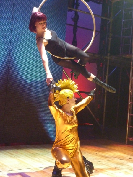 Molly Tynes and Celina Carvajal at BWW BLOG: CHIX 6 Opens at Queens Theatre in the Park!