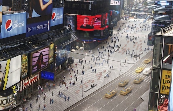 Photo Flash: First Look at Times Square's New Redesign!