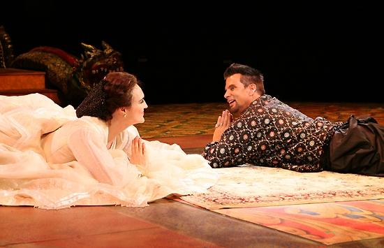 Kate Fisher and Lorenzo Lamas Photo