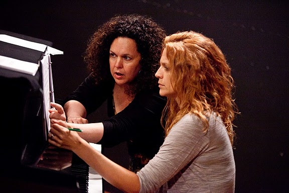 Composer Julianne Wick Davis and Musical Director Emily Otto