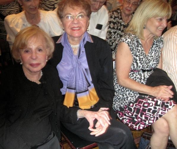 Anita Jaffe, Florence Teuscher and Marylee Terrano