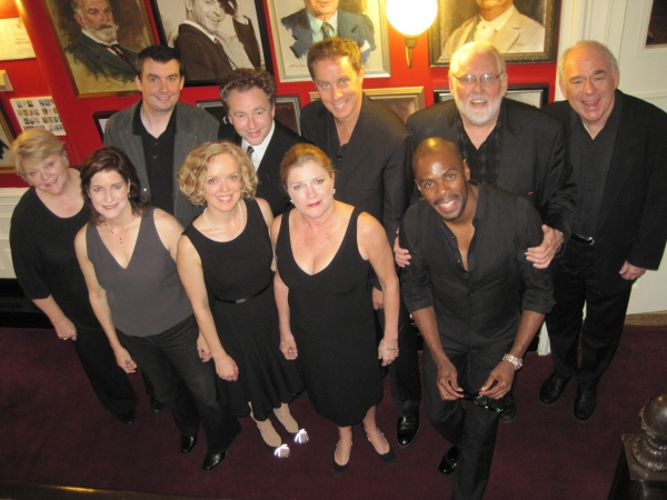 The Cast of The Millionairess-Nora Chester, Roma Torre, Ian Gould, Nancy Anderson, Don Stephenson, Kate Mulgrew, Coleman Domingo, Jim Brocuu and Lenny Wolpe