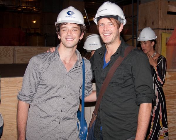 Michael Urie and Bill Heck at Edward Norton, Edward Albee, et al. Announce Signature Theatre Company's New Season!