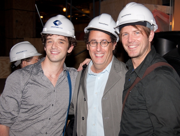 Michael Urie, Tony Kushner, and Bill Heck at Edward Norton, Edward Albee, et al. Announce Signature Theatre Company's New Season!