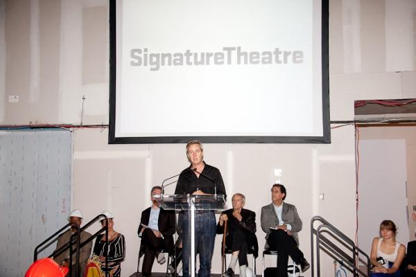 Photo Coverage: Edward Norton, Edward Albee, et al. Announce Signature Theatre Company's New Season!