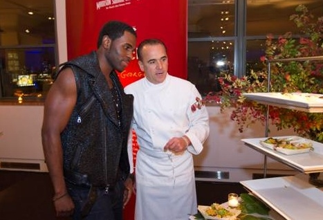 Jason Derulo & Chef Jean George