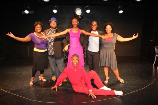 Johmaayla Adelekan, Jacob Ming-Trent, Zurin Villanueava, Tyrone Davis, Jr, Rheaume Crenshaw at Crossroads Theatre Co's AIN'T MISBEHAVIN' Begins Rehearsals