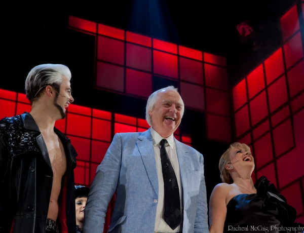David Erik, Sir Tim Rice and Shona White