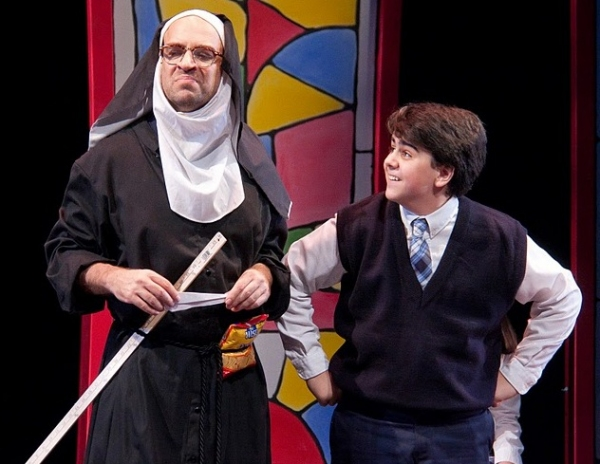 Photo Flash: THE KID WHO WOULD BE POPE at NYMF!