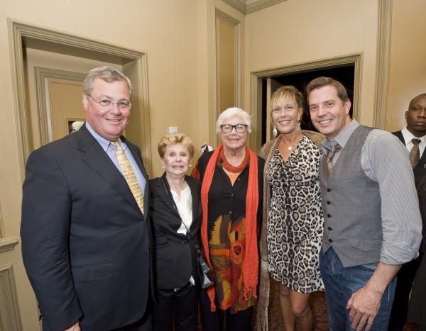 James Read, Jo Sullivan Loesser, Ruth Henderson, Heidi Henderson and Steven Reineke Photo