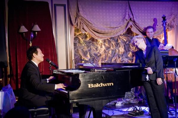 Michael Feinstein, Jo Sullivan Loesser Photo