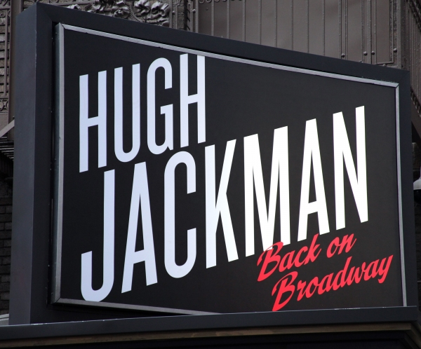 Up on the Marquee: HUGH JACKMAN BACK ON BROADWAY
