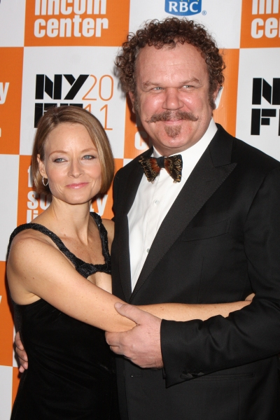 Jodie Foster and John C. Reilly at Opening Night of CARNAGE at NY Film Festival