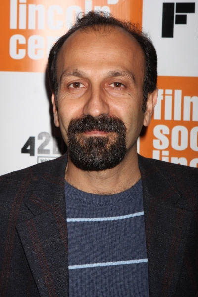 Asghar Farhadi Iranian screenwriter/director arriving at the 49th Annual New York Film Festival Opening Night Gala screening of ''Carnage'' at Lincoln Center's Alice Tully Hall in New York City