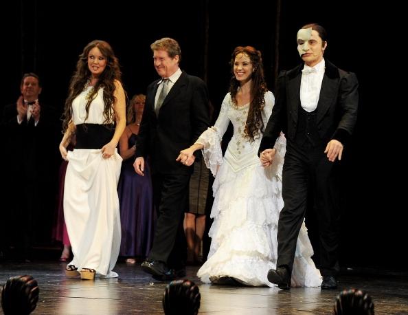 Sarah Brightman, Michael Crawford, Sierra Boggess and Ramin Karimloo