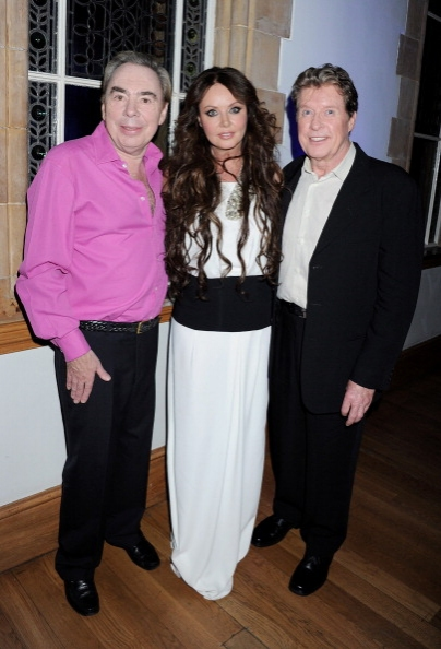 (L to R) Lord Andrew Lloyd Webber, Sarah Brightman and Michael Crawford