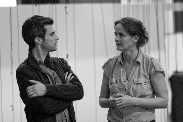 Photo Flash: Sam Waterston, Kelli O'Hara, et al.  in Rehearsal for Public Theater's KING LEAR