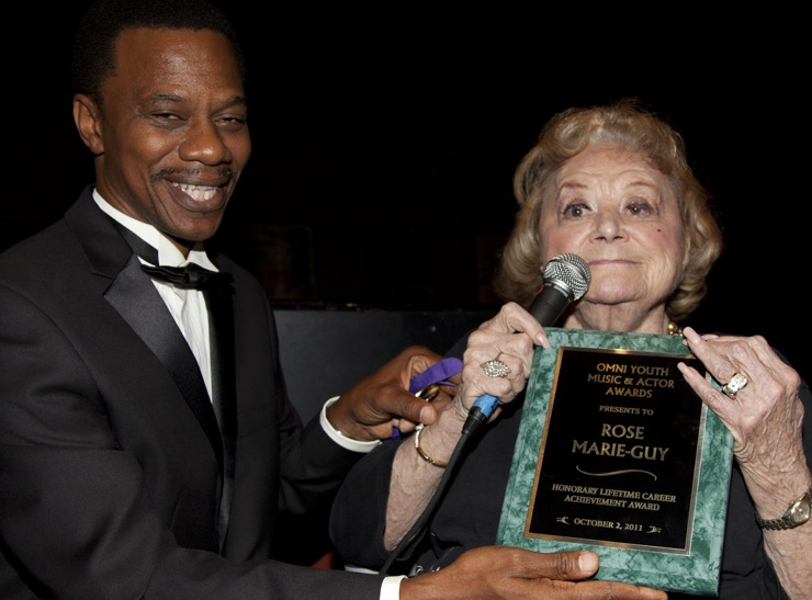 Rose Marie Awarded Omni Youth Lifetime Achievement Award