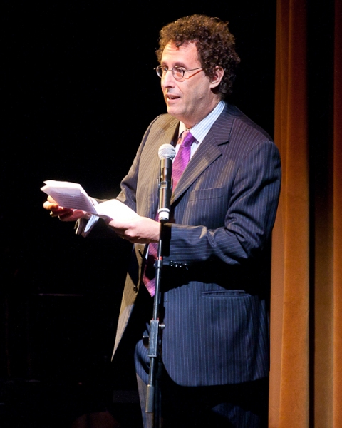 Tony Kushner at Ellen Barkin, Joe Mantello, et al. Honor George C. Wolfe at 2011 Mr. Abbott Awards