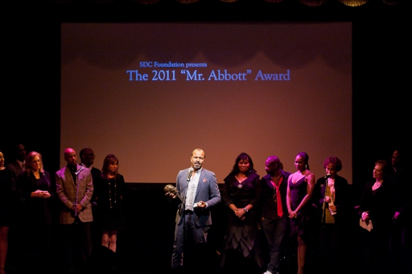Jeffrey Wright at Ellen Barkin, Joe Mantello, et al. Honor George C. Wolfe at 2011 Mr. Abbott Awards