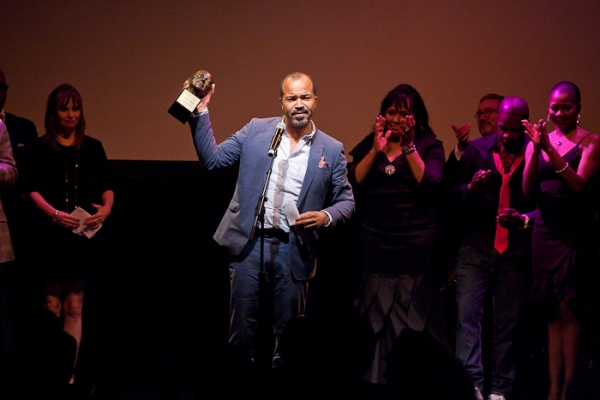 Jeffrey Wright at Ellen Barkin, Joe Mantello, et al. Honor George C. Wolfe at 2011 Mr. Abbott Awards