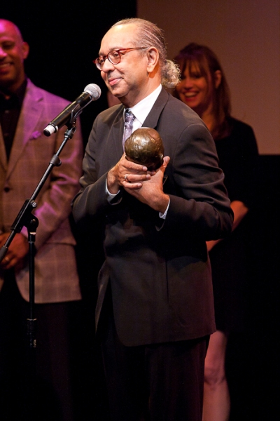 Photo Coverage: Ellen Barkin, Joe Mantello, et al. Honor George C. Wolfe at 2011 Mr. Abbott Awards