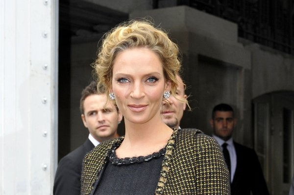 Photo Flash: Uma Thurman, et al. at Paris Fashion Week