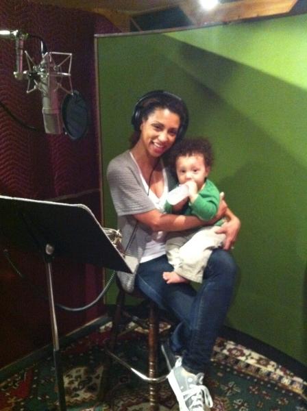 Sabrina Sloan and her son Jackson Photo