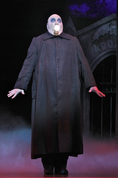 Blake Hammond  at First Look at THE ADDAMS FAMILY National Tour!