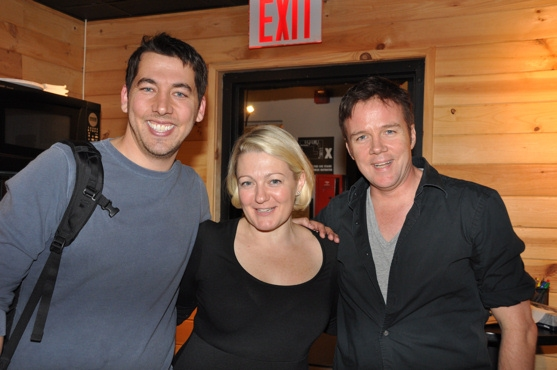 Andrew Graham (Musical Director), Lynn Pinto (Producer) and James Darrah Photo