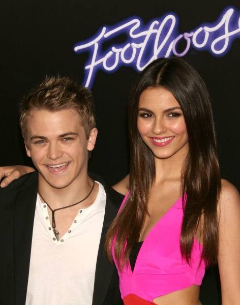 Hunter Hayes and Victoria Justice at FOOTLOOSE Movie Premieres in Los Angeles!