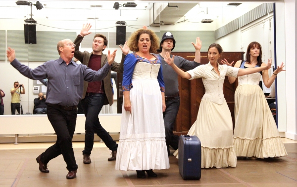 Ensemble Cast featuring: D.C. Anderson, Stanley Bahorek, Theresa McCarthy, Julia Murney, Andrew Samonsky, Tally Sessions & Mary Testa at All Hail - Julia Murney, Mary Testa & QUEEN OF THE MIST Meet the Press!