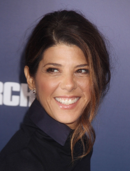 Marisa Tomei at Clooney's IDES OF MARCH Film Premieres in New York