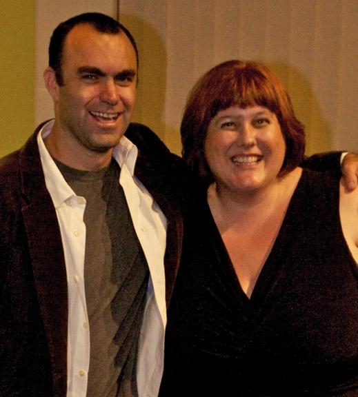 Aron Eli Coleite and Gwenyth Reitz