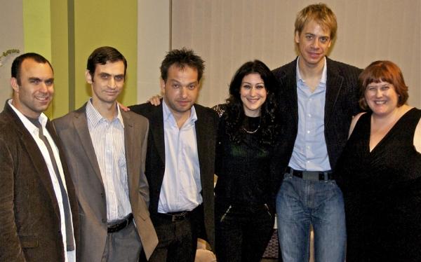 Aron Eli Coleite, Steve Margetis, Fotis Michelioudakis, Ioanna Lunaki, Christos Alexandrou and Gwenyth Reitz