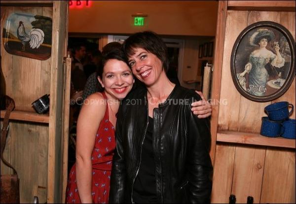 Cast member Jenny Larson (L) and Co-Director/Cast member Lana Lesley