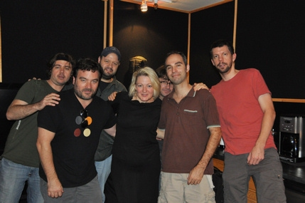 Lynn Pinto and the Spiderman Musicians-Matthew Lehmann, Antoine Silverman, Jonathan Dinklage, Alex Kadvan, Richard Hammond