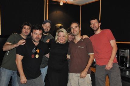 Lynn Pinto and the Spiderman Musicians-Matthew Lehmann, Antoine Silverman, Jonathan Dinklage, Alex Kadvan, Richard Hammond
