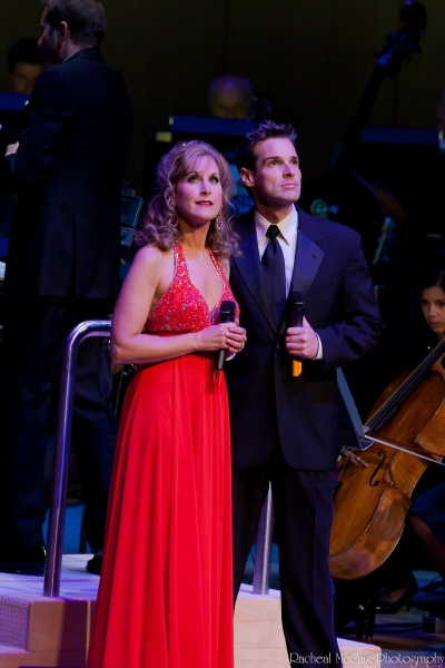 Jodi Benson and Hugh Panaro
