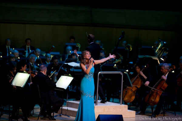 Jodi Benson at Jodi Benson and Hugh Panaro in Concert with the TSO