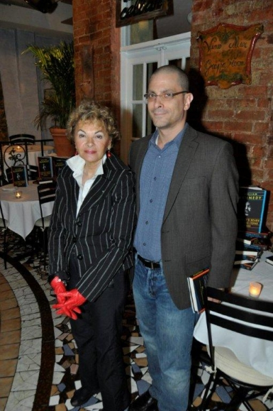 Photo Flash: Trattoria Dopo Teatro Honors Author William Kennedy