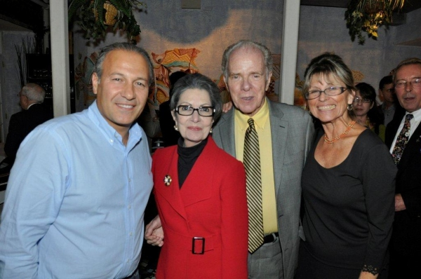 Co-Host Guiseppe Manica, Dana and William Kennedy, Barbara Geti