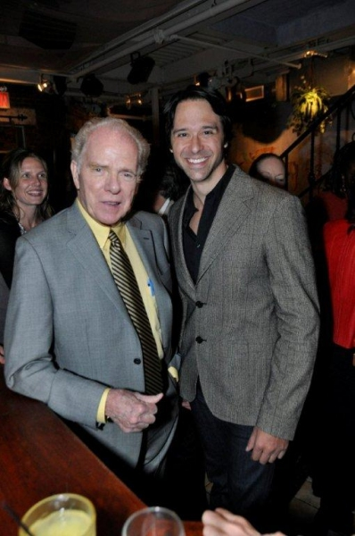 William Kennedy, Jeremiah James at Trattoria Dopo Teatro Honors Author William Kennedy