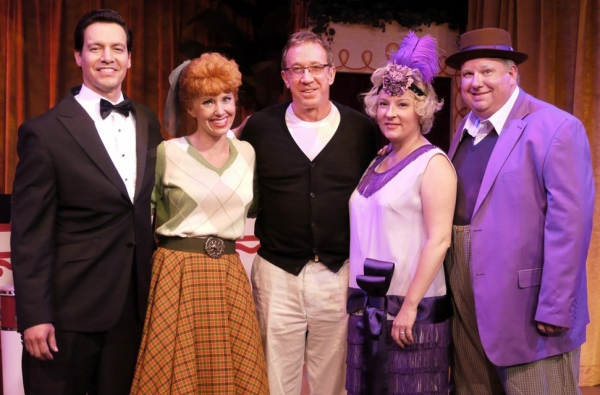 Tim Allen with Bill Mendieta, Sirena Irwin, Lisa Joffrey and Bill Chott