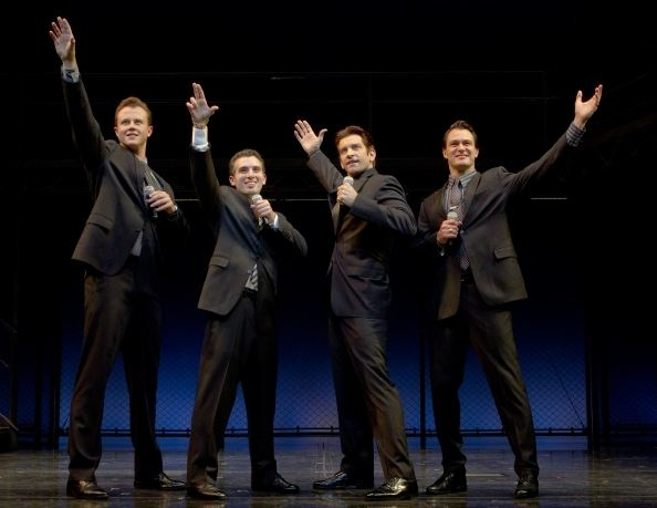 Photo Flash: Andy Karl & Quinn VanAntwerp Join Cast of JERSEY BOYS