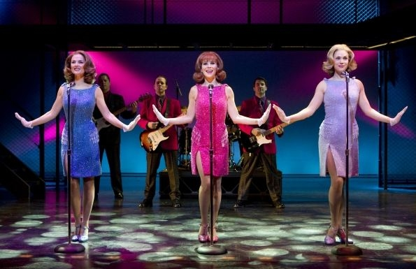 Katie O'Toole, Sara Schmidt, Jessica Rush at Andy Karl & Quinn VanAntwerp Join Cast of JERSEY BOYS